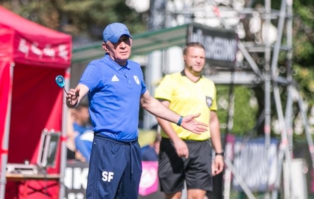 Sergei Frantsev (sinises) on viimas Kaljut ajaloolise saavutuse poole. Foto: Brit Maria Tael