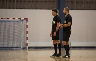 Saalijalgpalli kohtunike seminaridel osales ligi 50 inimest