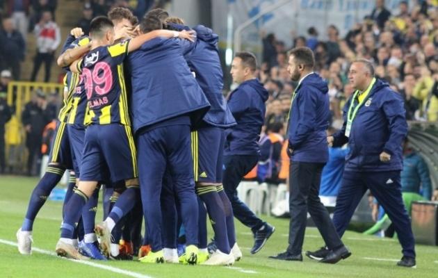 Fenerbahce mängijad said viimati küll rõõmustada, aga üldplaanis on seis keeruline. Foto: Fenerbahce Twitter