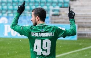 Beglarišvili: ühe tugeva jalgpallimaa klubist on konkreetne huvi