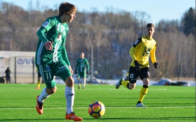 Järjekordne FCI Levadia mängumees sõlmis klubiga uue lepingu