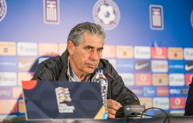 Kreeka uus peatreener Angelos Anastasiadis. Foto: Jana Pipar / EJL