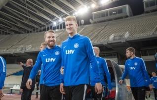Galeriid: Eesti valmistus Ateena olümpiastaadionil homseks mänguks