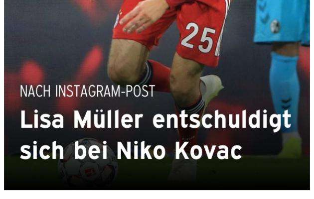Bayerni kodulehel avaldatud ja nüüdseks kustutatud teade. Foto: Bayern Maniacs Twitter