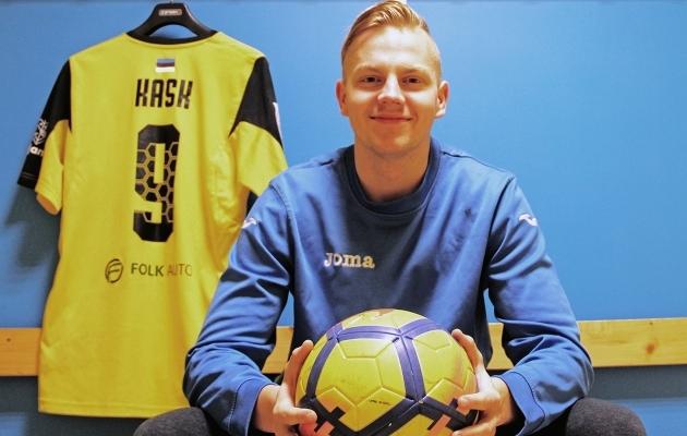 Tulevik omandas pärast hooaega Kristjan Kase mängijaõigused. Foto: Viljandi JK Tulevik