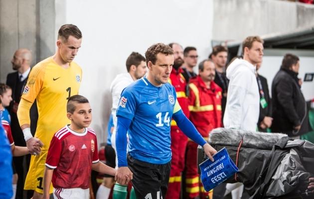 Eelmisel nädalal Budapestis Eesti kaptenipaela kandnud Konstantin Vassiljevi jaoks on selleks aastaks ametlikud mängud mängitud. Nüüd tuleb lihtsalt treenimisega piirduda. Foto: Jana Pipar