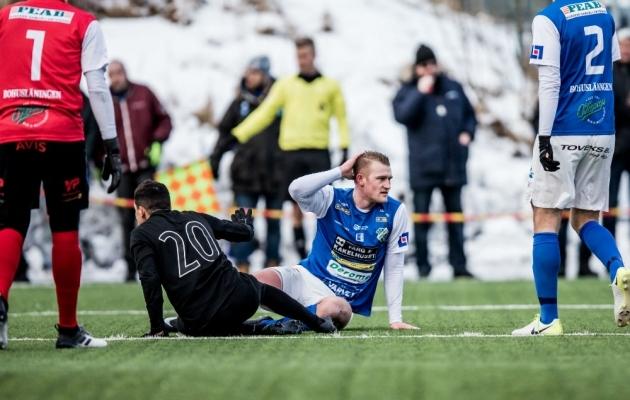 Karikamäng, millega Jansson mängis end AIK radarile. Foto: fotbollsthlm.se