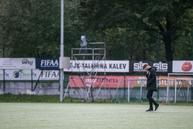 Flora tegi 2:2 viigi Tallinna Kaleviga. Foto: Brit Maria Tael