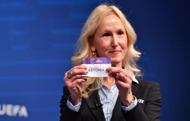 2cd0235897a EJL peasekretär ja UEFA naiste jalgpalli komitee juht Anne Rei Foto: UEFA