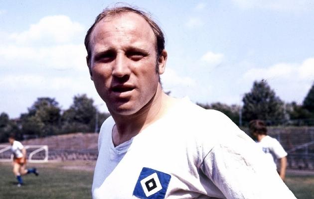 Hamburgi legend Uwe Seeler on sakslaste üheteistkümnes ainus, kes jäi rahvusvahelise suure tiitlita. Foto: hsv-history.de