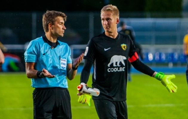 Aland mängis Pärnus küll esimest aastat, aga oli kohe meeskonna kapten. Foto: Gertrud Alatare