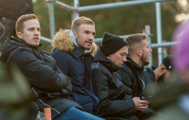 Martin Mägi (vasakul) lõpetas vigastuste tõttu karjääri. Foto: Gertrud Alatare