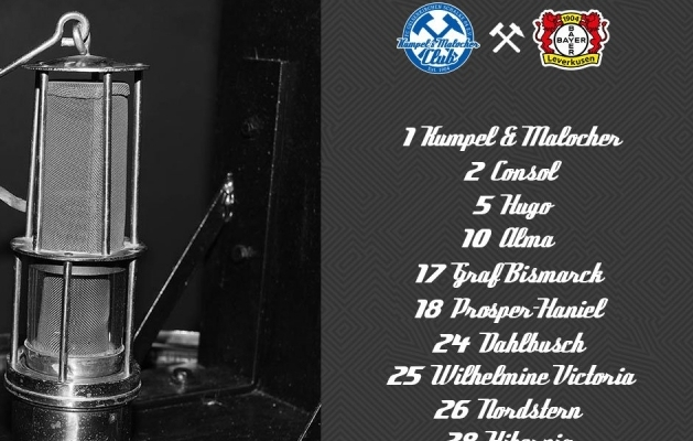 Schalke meenutas kohtumises Leverkuseniga ajaloolise tähtsusega kaevandusi. Foto: watson.de
