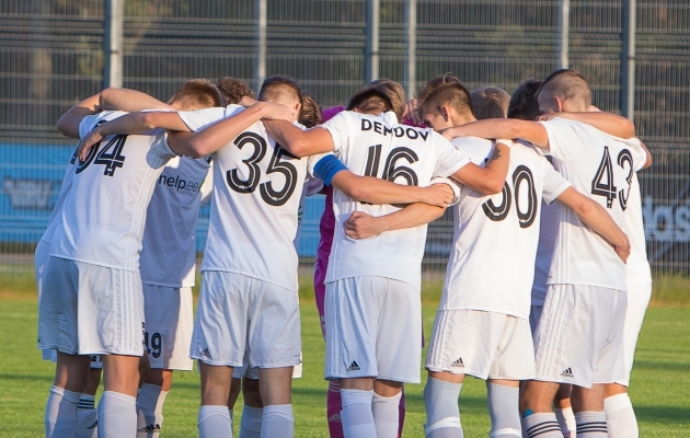 Kalju U21 langes sel hooajal Esiliigast välja. Foto: Andrei Smetana