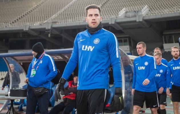 Meerits on tosinal korral esindanud Eesti koondist, viimati jaanuaris 0:0 viigimängus Islandiga. Foto: Jana Pipar / EJL