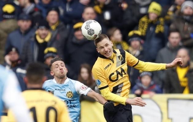 Kas Karol Metsa mängud Breda särgis on mängitud või lepivad pooled siiski ära? Foto: NAC Breda