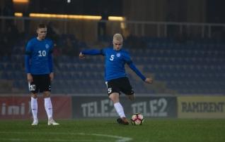Eesti U21 mängis aasta avakohtumises Ukrainaga viiki