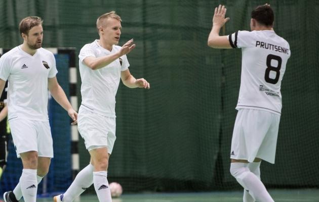 Tartu Ravens Futsali mängijad. Foto: Jana Pipar / EJL