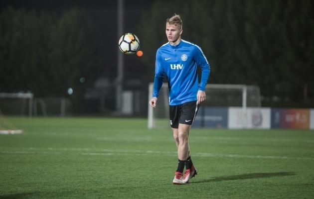 Henrik Pürg alustab keskkaitses. Foto: Jana Pipar / EJL