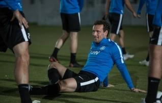 Galerii Dohast: Eesti andis enne matši Islandiga oma mängule viimast lihvi