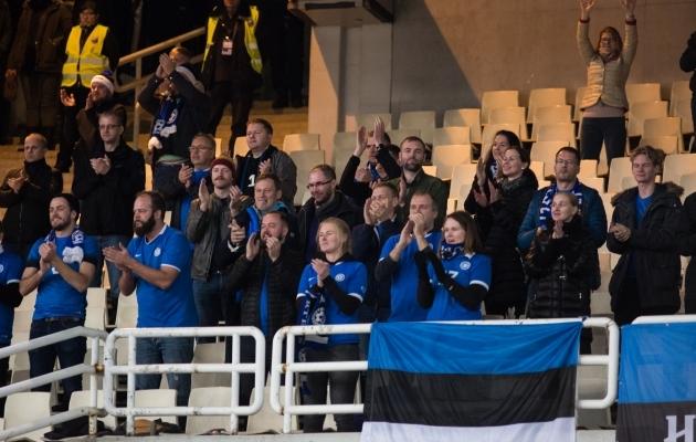 Eesti fännid Kreekas. Foto: Jana Pipar
