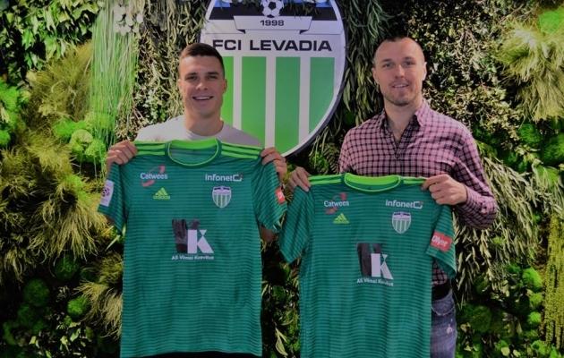 Jevgeni Budnik ja Jevgeni Osipov. Foto: FCI Levadia Facebook