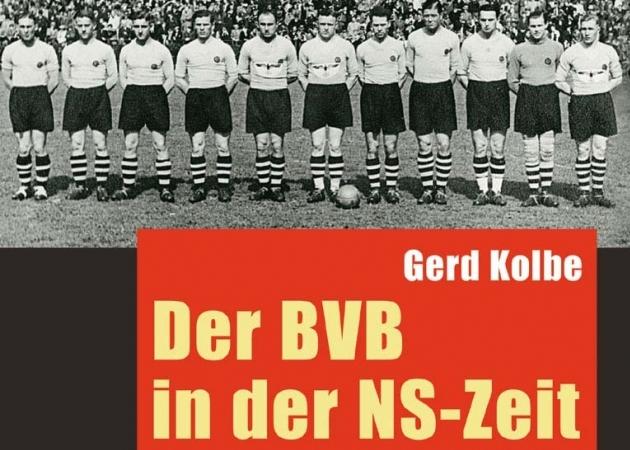 Dortmundi Borussia natsiajalugu käsitlev teos. Üks esimesi sellelaadseid raamatuid Saksamaal. Foto: werkstatt-verlag.de