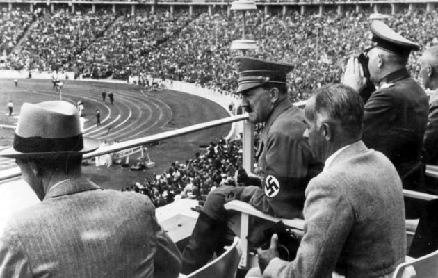 Berliini olümpiamängud olid Hitleri jaoks mainekujundusprojekt. Foto: historyplace.com