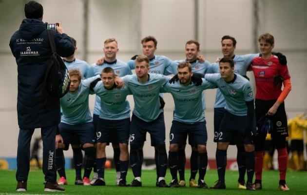 FC Kuressaare meeskond. Foto: Liisi Troska