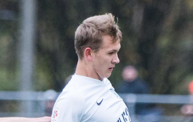 FC Flora ründaja Mark Anders Lepik. Foto: Brit Maria Tael