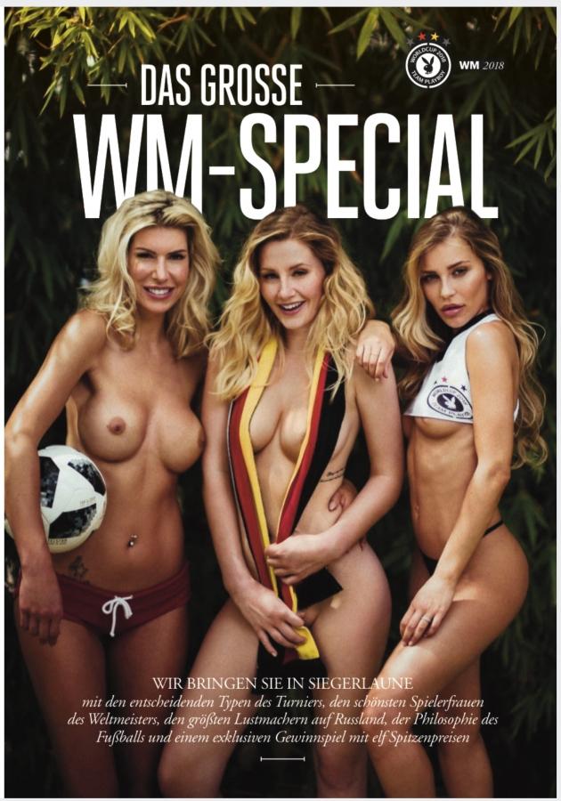 Jalgpall Playboys. Foto: Playboy