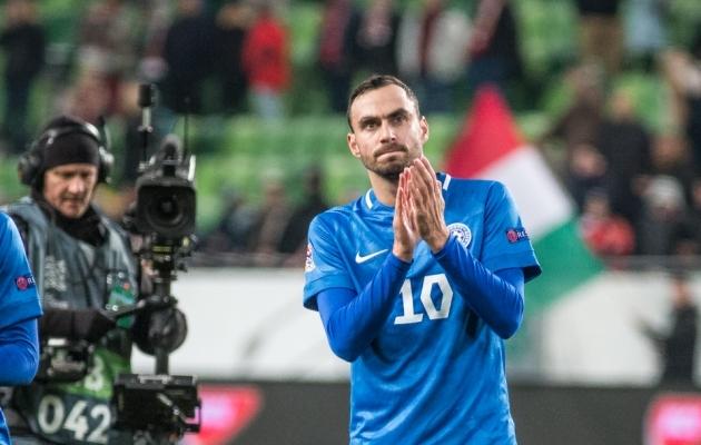 Sergei Zenjov võib juba lähiajal klubi vahetada, kui teda esindav Nesta Sport Group mängijale hea variandi leiab. Foto: Jana Pipar