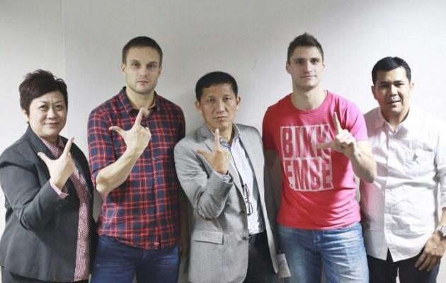 Martin Vunk siirdus Indoneesiasse koos Jevgeni Kabajeviga. Foto: Jakarta Persija