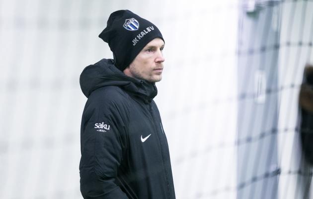 Kuidas saab Aleksandr Dmitrijev hakkama peatreeneri rollis? Foto: Brit Maria Tael