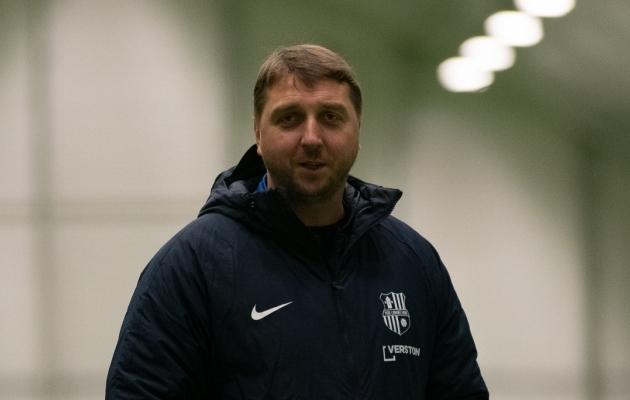 Paide Linnameeskonna peatreener Vjatšeslav Zahovaiko. Foto: Liisi Troska