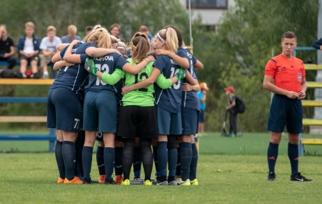 FC Ajaxi naiskond. Foto: Liisi Troska / EJL