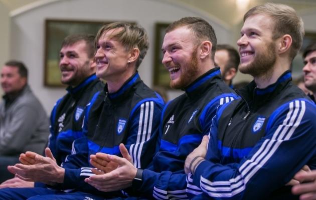 Ilja Kassjantšuk, Vladislav Gussev, Ilja Zelentsov ja Vladislav Tšurilkin. Foto: Brit Maria Tael