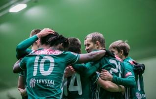 Levadia lõi Venemaa kõrgliigaklubi puuri esimese poolajaga täis