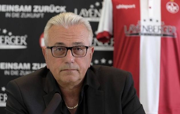Kaiserslauterni sponsor Harald Layenberger, kes päästis Walteri kollektsiooni. Foto: Berliner Kurier