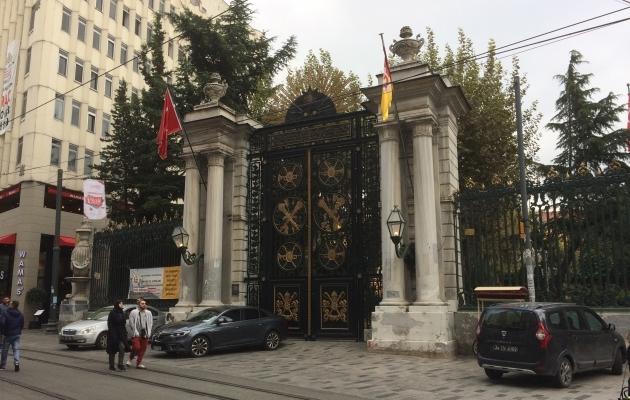 Nende väravate taga on Galatasaray ajalooline lütseum. Foto: Indrek Schwede