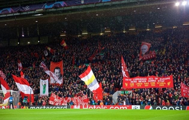 KOP esines mängu eel oma tuntud headuses. Foto: Liverpool FC Twitter