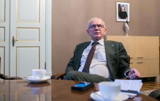 Neljapäeval alanud Riigikogu valimistel kandideerib Eiki Nestor Tartu- ja Jõgevamaal, olles seal sotsiaaldemokraatide esinumber. Foto: Brit Maria Tael