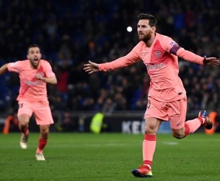 Messi tassis Barcelona kahel korral kaotusseisust välja ja lõpetas kübaratrikiga mängu  (täiendatud)