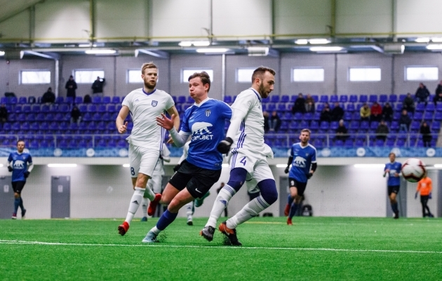 Kontrollmängudes sai Maardu nähvaka Tallinna Kalevilt, aga nende mängude tulemustest ei tasu liigselt välja lugeda. Foto: Oliver Tsupsman