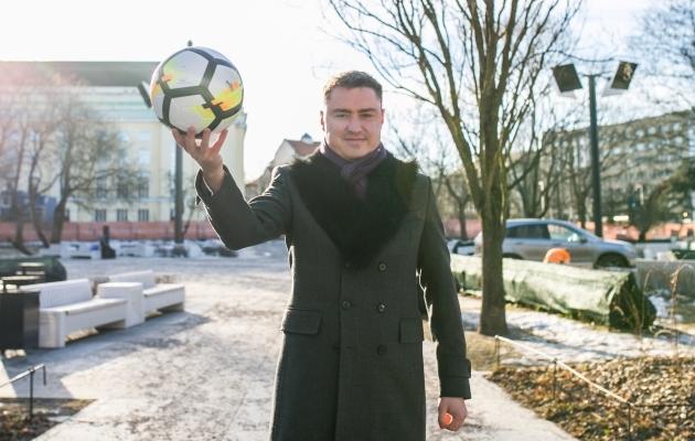 Endine peaminister Taavi Rõivas rääkis Soccernet.ee-le antud intervjuus, et riigipoolne tugi suurtele spordiprojektidele on loomulik, vajalik ja põhjendatud. Foto: Brit Maria Tael