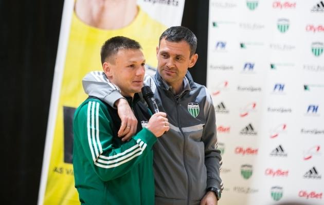 Dmitri Kruglov ja Aleksandar Rogic. Foto: Brit Maria Tael