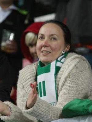 Monica Rand on FC Flora toetaja 1991. aastast saadik. Foto: Erakogu