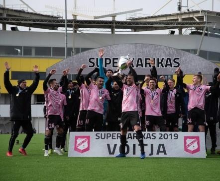 VAATA JÄRELE: Kalju tuli kaotusseisust välja ja võitis oma ajaloo esimese superkarika