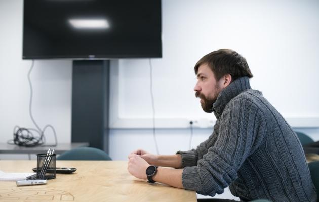 Pelle Pohlak ütles, et Aleksandr Šapovalov on suveni Eestisse jäämas. Foto: Brit Maria Tael
