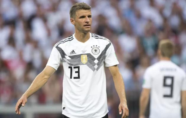 Thomas Müller. 29-aastane. Koondises 100/38. Foto: bayernstrikes.com